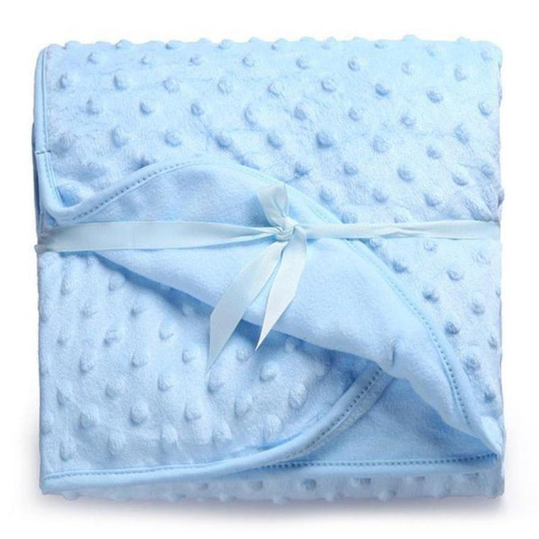 Ultra Soft Plush Baby Blanket
