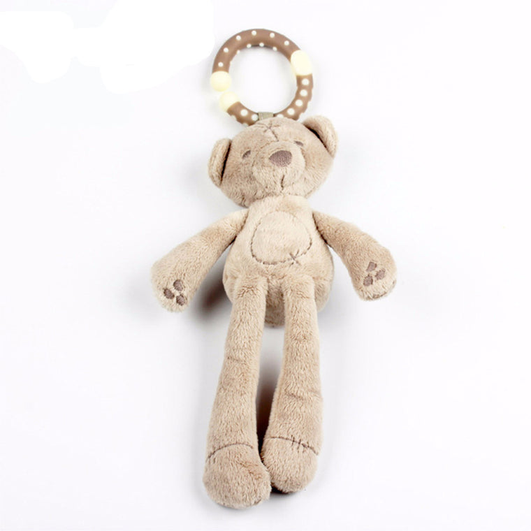 Baby Soft Bear Stroller Rattle