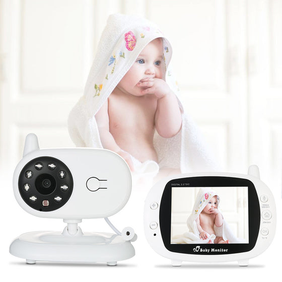 Baby Monitor Security Camera With 3.5'' TFT LCD 2