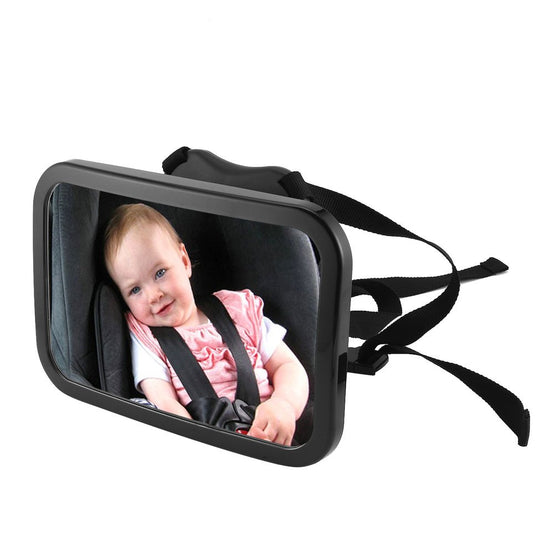 Adjustable Car Baby Safety Mirror 360 Degree Rotation Rear View Mirror Monitor