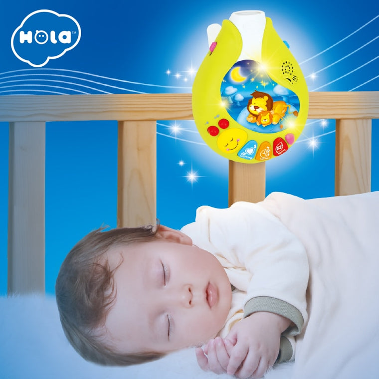 Lullaby Night Lamp for Kids