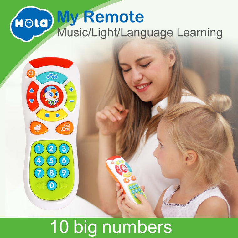 Educational Remote Control for Infants Learning
