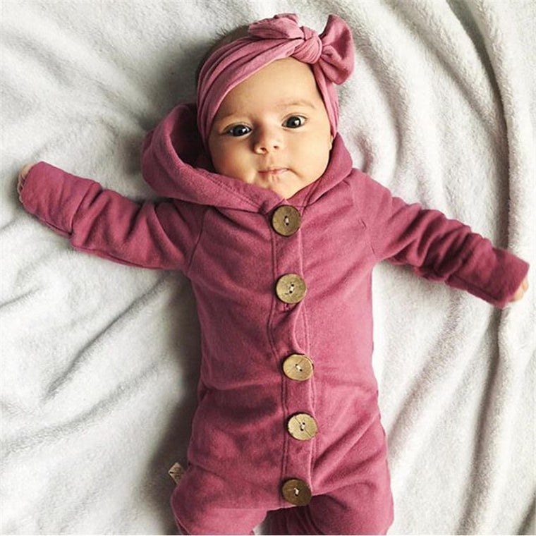 Hooded Romper Jumpsuit Outfit