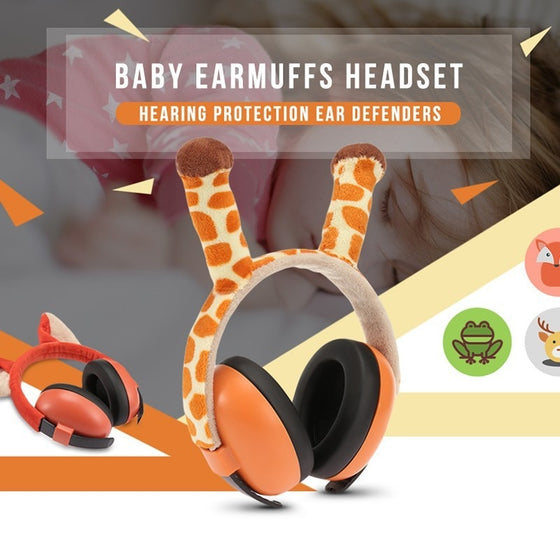 Cute Animal Soundproof Headset
