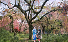 """Tokyo Blossom Twins"" Japan // archival pigment print"