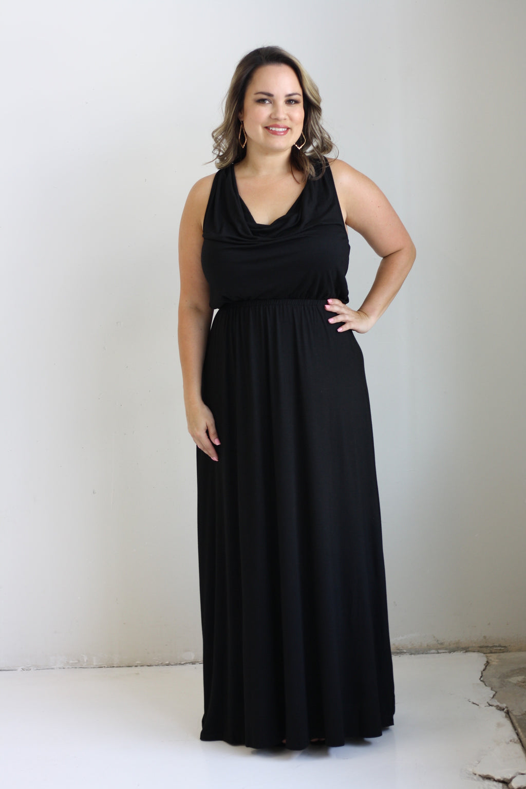 Serena Maxi Dress - Black