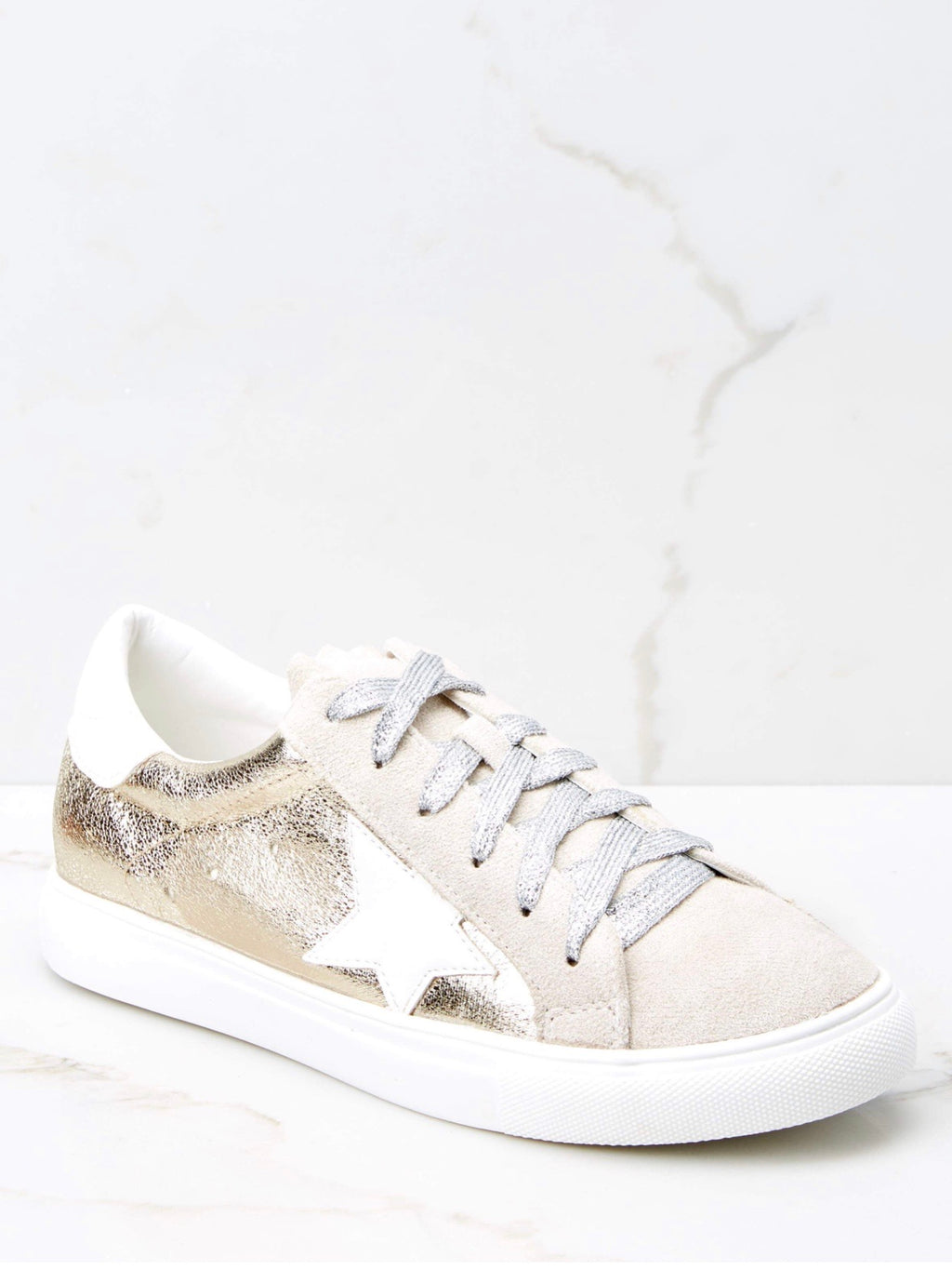 Shining Star Golden Sneakers