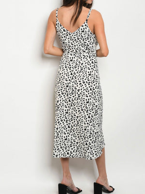 Wild at Heart Leopard Wrap Dress