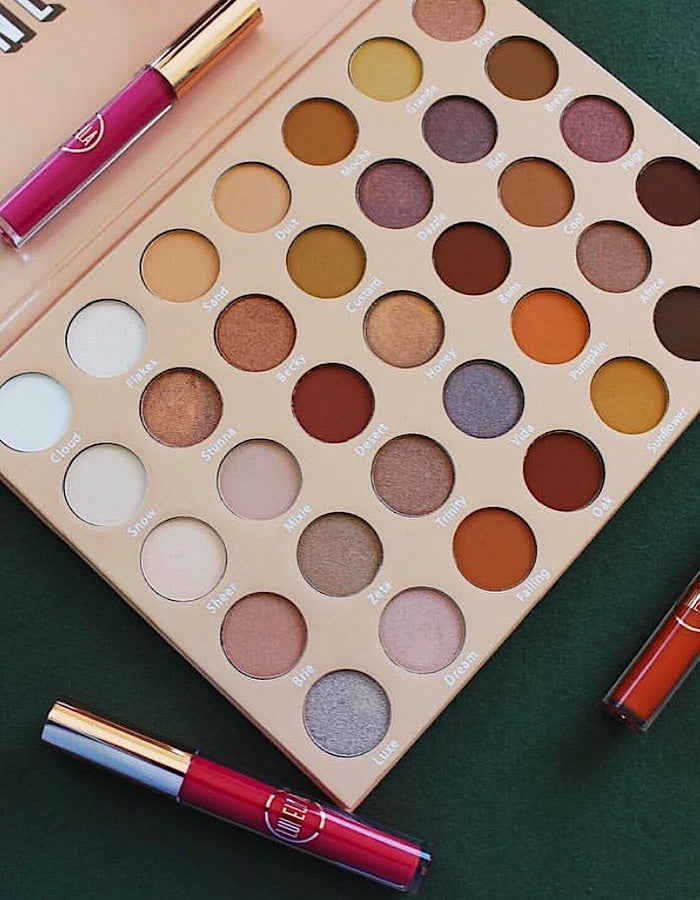 Stay Neutral Lurella 35 Color Eyeshadow Palette