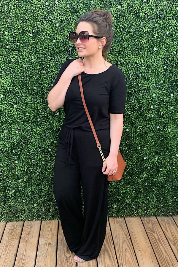 Ready For Anything Jumpsuit - Black