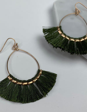 Lisa Tassel Earrings