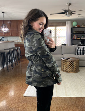 ZIn The Army Now Camo Jacket