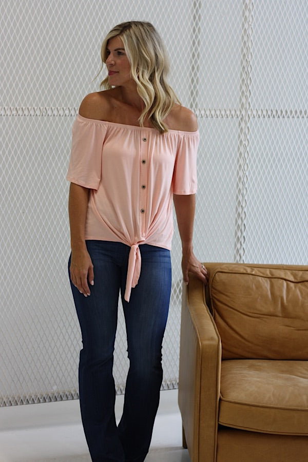 Tansy Off The Shoulder Top