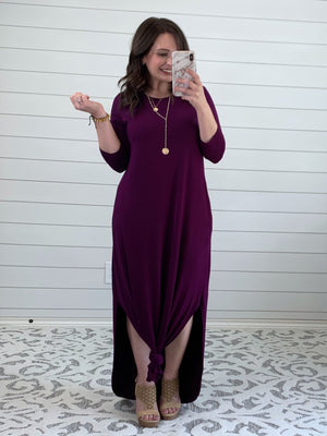 Miss Dependable Midi Dress