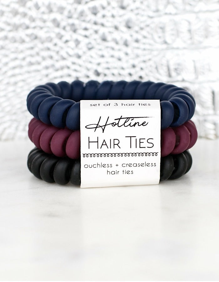 Hotline Hair Ties - Matte Sets