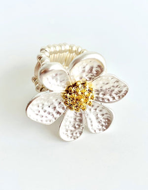 Flower Power Expandable Ring