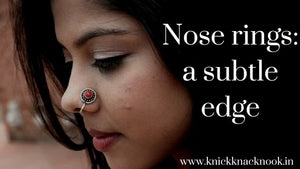 Nose rings - A subtle edge