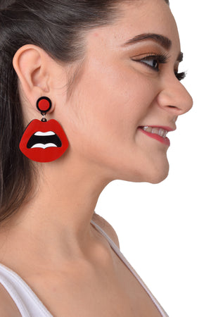 ThatBohoGirl's Hotlips - Acrylic Earrings