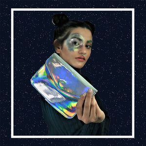 Supernova - Holographic Silver - Sling bag