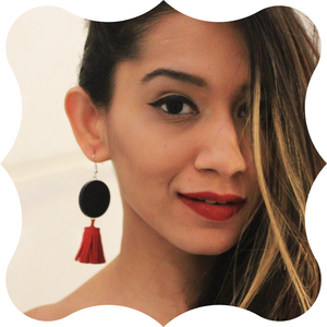 Eclipse - Tassel Earrings