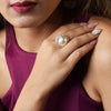 Pearl of the Orient - Studded Rings with Pearl
