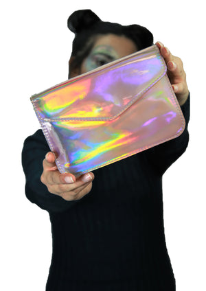 Supernova - Holographic Rose - Sling Bag