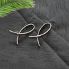 Eva Silver - Dainty earrings