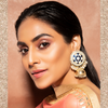 Vaidehi Earrings - Heavy Indian Meenakari Earrings