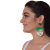 Pixie Punkster - Multicoloured Face Acrylic Earrings