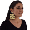 Girl Boss - Acrylic Earrings