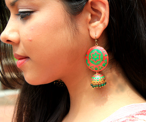 Jhoomar - Red & Green - Knick Knack Nook