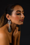 Mimosa - Stone Earrings with tassels