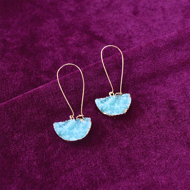 Tipple - Aqua - Tassel Earrings