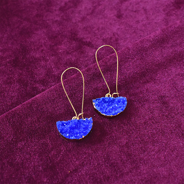 Tipple - Blue - Tassel Earrings