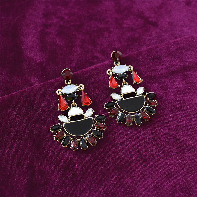 Bloody Mary - Multicoloured Stone Stud Earrings