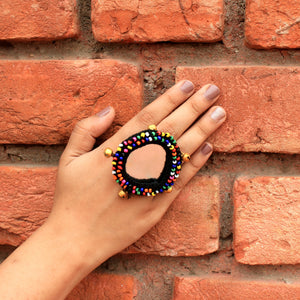 Darpan - Black - Mirror Ring