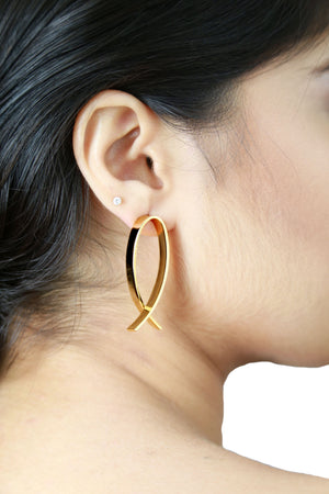 Eva Gold - Dainty Earrings