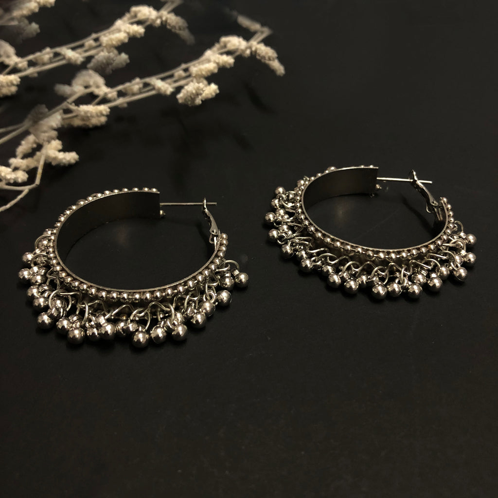 Ghungroo Hoops Earrings