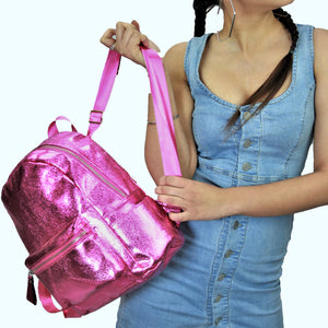 Cosmic Wonder - Dark Pink - Sparkle Bagpack