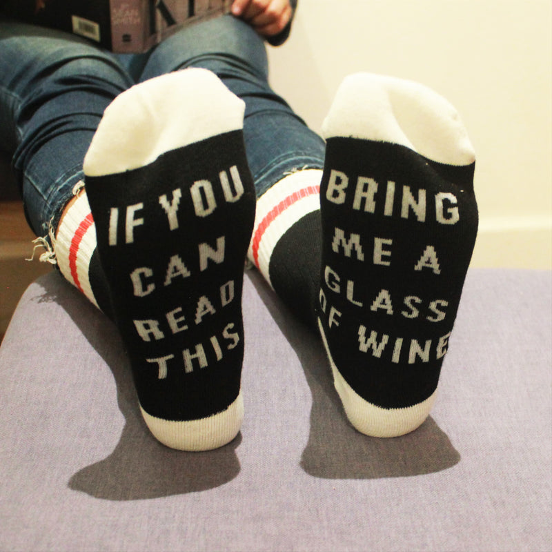 Gimme Wine - Above Ankle Socks