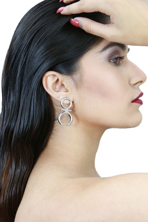 Jane Silver - Chic Earrings