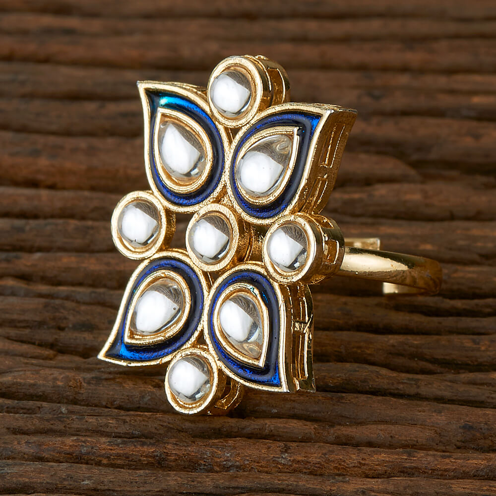 Jodha - Blue Statement Ring