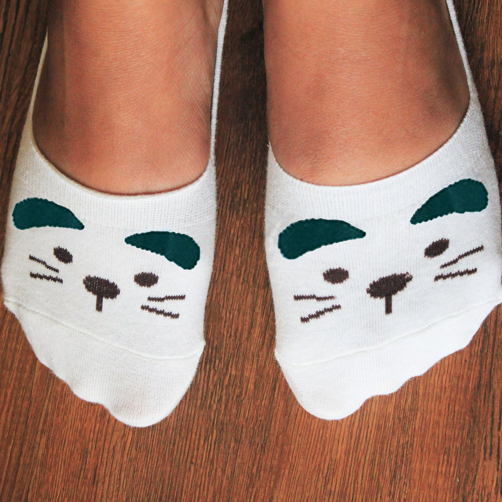 Kitty Cat- Teal