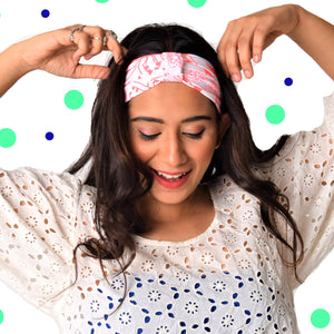 Pink Wink Looped Headband