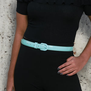 Aqua Awe - Fun Popping Belt with Colourful Bow Buckle