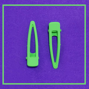 Neon Clips- Green