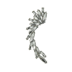 Goth Wing - Delicate Designed Crystal Ear Cuff