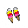 Shradha Gurung's Sorbet Sundae - Acrylic Ice Cream Earrings