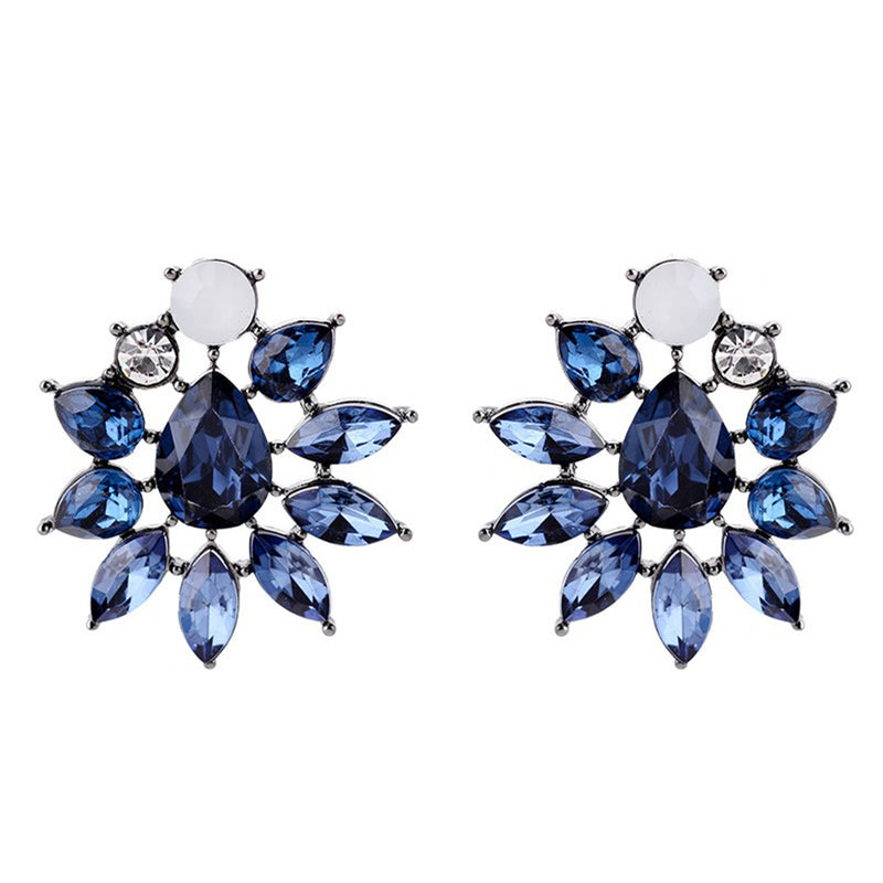 Midnight Star - Blue Stone Earrings