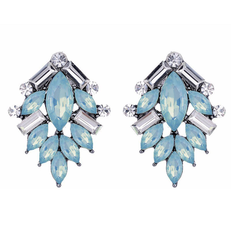 Perch - Powder Blue - Stone Earrings